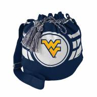 West Virginia Mountaineers Ripple Drawstring Bucket Bag