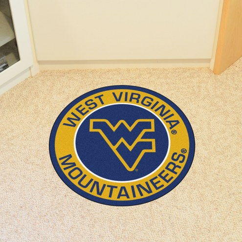 West Virginia Mountaineers Rounded Mat