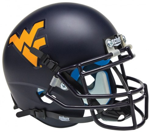 West Virginia Mountaineers Schutt Mini Football Helmet