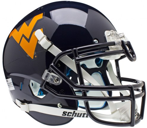 West Virginia Mountaineers Schutt XP Authentic Full Size Football Helmet