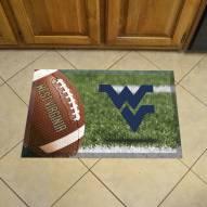 West Virginia Mountaineers Scraper Door Mat