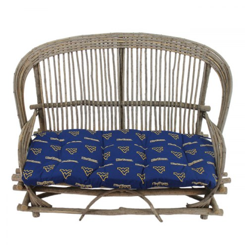 West Virginia Mountaineers Settee Chair Cushion