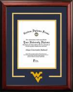 West Virginia Mountaineers Spirit Diploma Frame