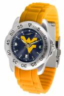 West Virginia Mountaineers Sport Silicone Men's Watch