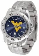 West Virginia Mountaineers Sport Steel AnoChrome Men's Watch
