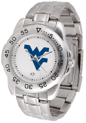 West Virginia Mountaineers Sport Steel Men's Watch