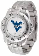 West Virginia Mountaineers Sport Steel Men's Watch