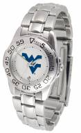 West Virginia Mountaineers Sport Steel Women's Watch