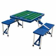 West Virginia Mountaineers Sports Folding Picnic Table