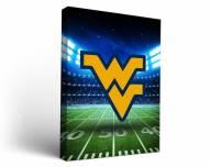 West Virginia Mountaineers Stadium Canvas Wall Art