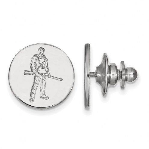 West Virginia Mountaineers Sterling Silver Lapel Pin