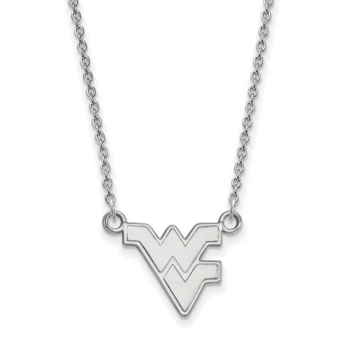 West Virginia Mountaineers Sterling Silver Small Pendant Necklace
