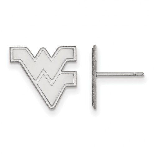 West Virginia Mountaineers Sterling Silver Small Post Earrings