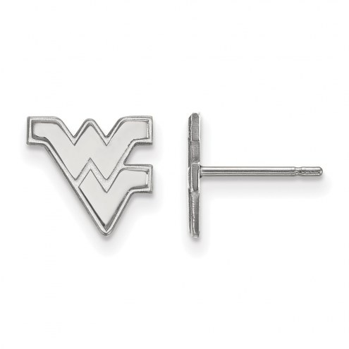 West Virginia Mountaineers Sterling Silver Extra Small Post Earrings