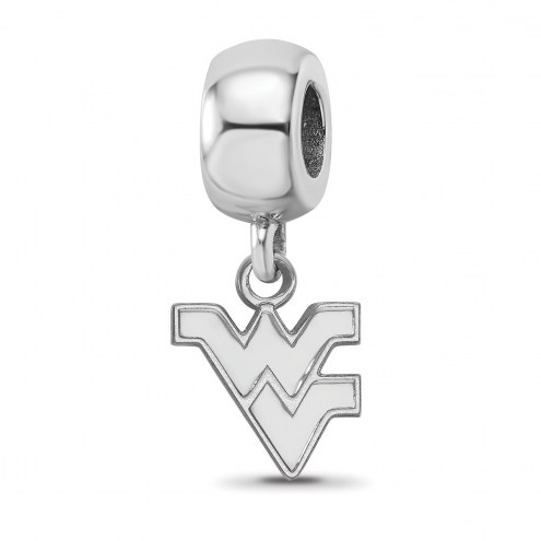 West Virginia Mountaineers Sterling Silver Extra Small Bead Charm