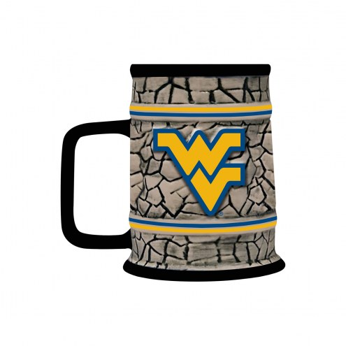 West Virginia Mountaineers Stone Stein