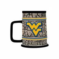 West Virginia Mountaineers Stone Stein