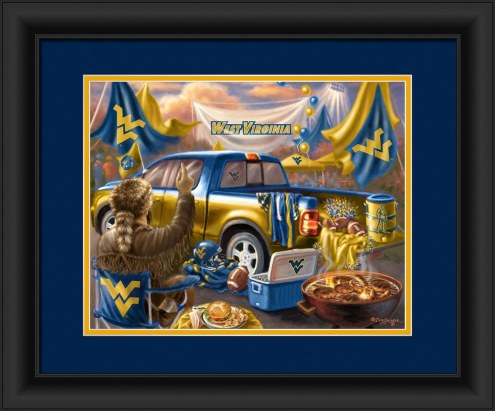 West Virginia Mountaineers Tailgate Framed Print