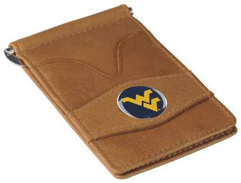 West Virginia Mountaineers Tan Player's Wallet