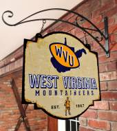West Virginia Mountaineers Tavern Sign