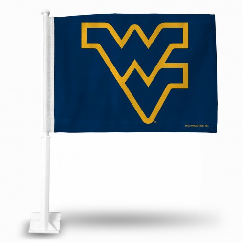 West Virginia Mountaineers College Car Flag