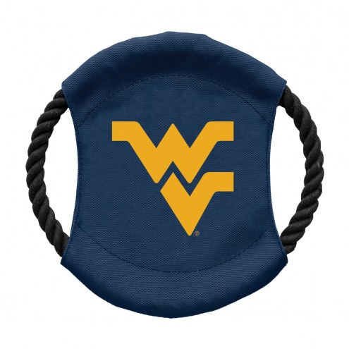 West Virginia Mountaineers Team Frisbee Dog Toy