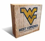 West Virginia Mountaineers Team Logo Block