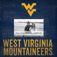 "West Virginia Mountaineers Team Name 10"" x 10"" Picture Frame"