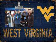 West Virginia Mountaineers Team Name Clip Frame