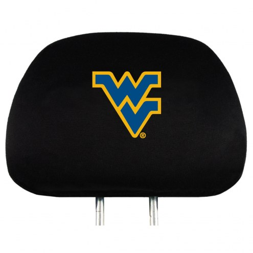 West Virginia Mountaineers Car Headrest Covers