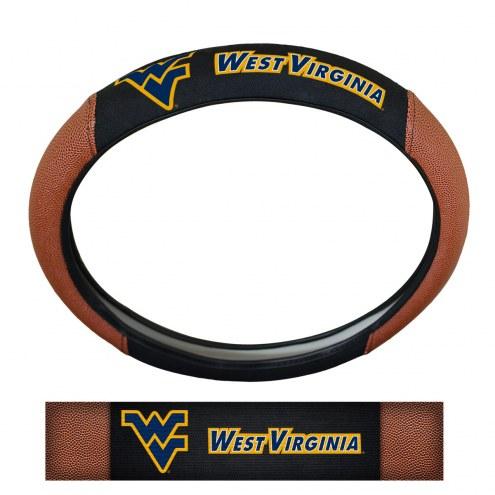 West Virginia Mountaineers Steering Wheel Cover