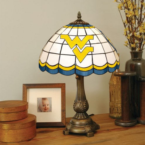 West Virginia Mountaineers Tiffany Table Lamp