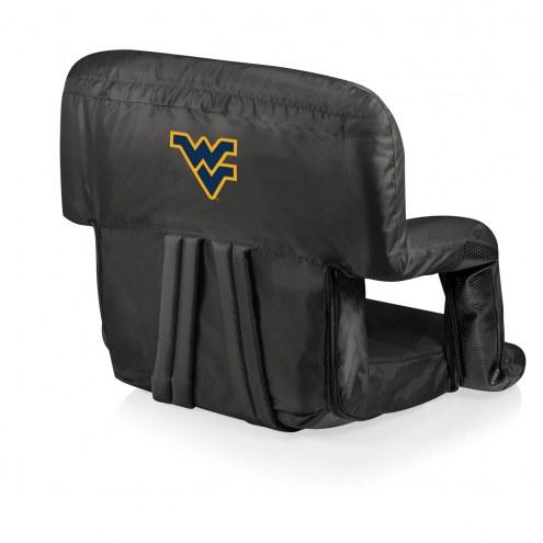 West Virginia Mountaineers Ventura Portable Outdoor Recliner