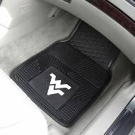 West Virginia Mountaineers Vinyl 2-Piece Car Floor Mats