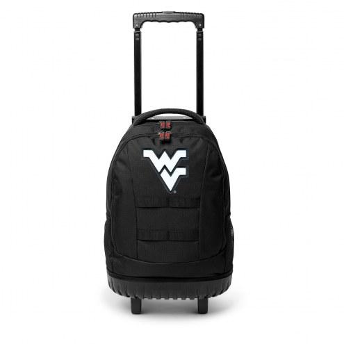 NCAA West Virginia Mountaineers Wheeled Backpack Tool Bag