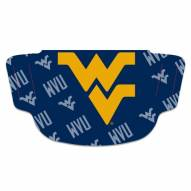 West Virginia Mountaineers Face Mask Fan Gear Special Order