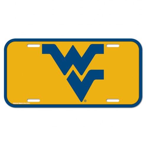 West Virginia Mountaineers License Plate
