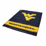 West Virginia Mountaineers Woven Golf Towel