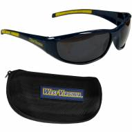 West Virginia Mountaineers Wrap Sunglasses and Case Set
