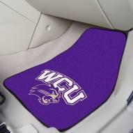 Western Carolina Catamounts 2-Piece Carpet Car Mats