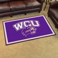 Western Carolina Catamounts 4' x 6' Area Rug