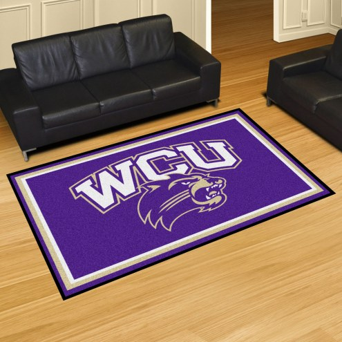 Western Carolina Catamounts 5' x 8' Area Rug
