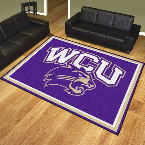 Western Carolina Catamounts 8' x 10' Area Rug