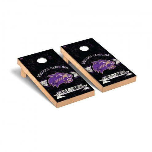 Western Carolina Catamounts Banner Cornhole Game Set
