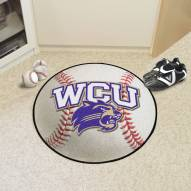 Western Carolina Catamounts Baseball Rug