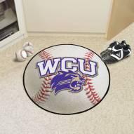 Western Carolina Catamounts Baseball Rug