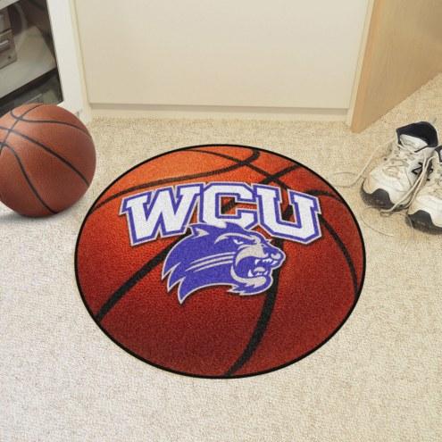 Western Carolina Catamounts Basketball Mat
