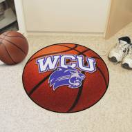 Western Carolina Catamounts Basketball Mat