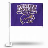 Western Carolina Catamounts Car Flag