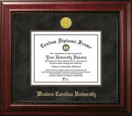 Western Carolina Catamounts Executive Diploma Frame